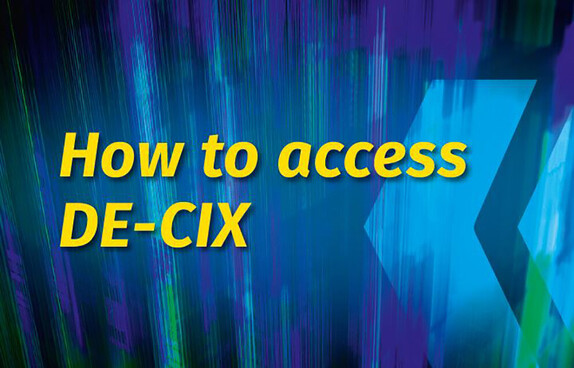 How to access DE-CIX guide cover