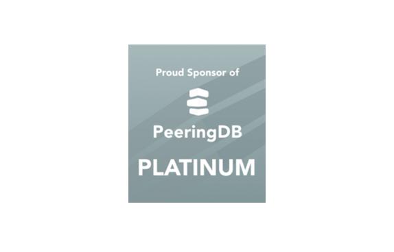 PeeringDP platinum sponsor