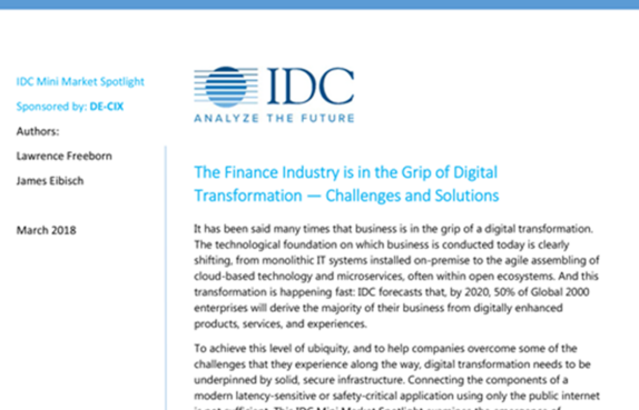 The finance industry is in the grip of digital transformation thumbnail